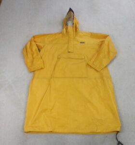 VINTAGE Patagonia Jacket Adult 2XL XXL Yellow Outdoor Hooded Rain Coat Mens *