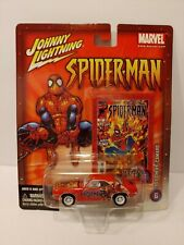 Johnny Lightning Spider-man 1969 Chevy Camaro White Lightning HTF