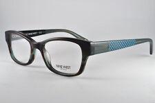 Nine West Eyeglasses NW 5088 323 Teal Horn, Size 48-17-135