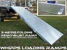 Removalist Loading Ramp 3 metres Folding 300kg capacity Australian Made