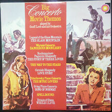GEOFF LOVE & HIS ORCHESTRA - BIG CONCERTO MOVIE THEMES VINYL LP AUSTRALIA