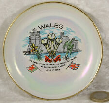 Myott pin tray  Wales souvenir sewing wedding ring tray collectable
