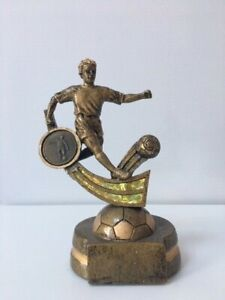 Male Football Trophy Award 150mm  - Free Engraving