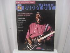 Buddy Guy Best of CD Signature Licks Sheet Music Song Book Guitar Tab Tablature