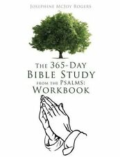 The 365-Day Bible Study from the Psalms: Workbook - NEW - PAPERBACK