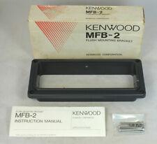 New Kenwood MFB-2 Marine Radio Flush Mounting Bracket TKM-507