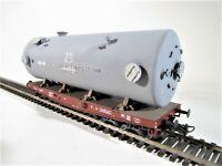 Artitec / Blackstar 393.001 FS carro pianale trasporti pesanti con serbatoio