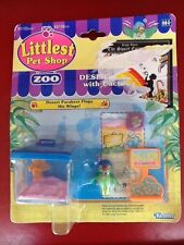 LITTLEST PET SHOP Zoo DESERT PARAKEET w/CACTUS Vintage 1993 KENNER MOC Playset
