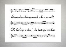 Arctic Monkeys - Fluorescent Adolescent - Song Sheet Print Poster Art