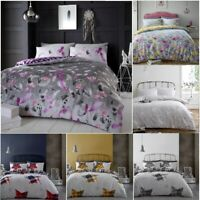 Flannelette Duvet Cover Pillow Case Quilt Cover Bedding Set Double King All Size