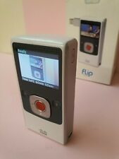 Cisco Flip UltraHD Video Grabadora Videograbadora Modelo U260 4GB Blanco dispositivo portátil