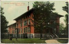 Jefferson County Orphans' Home in Watertown NY Postcard 1913