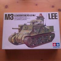 TAMIYA M3 LEE U.S.MEDIUM TANK M3 LEE MkI 1/35 Model Kit #11838