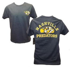 New Nashville Predators Mens Sizes S-M-L-XL-2XL Blue 2-Sided G-III Shirt