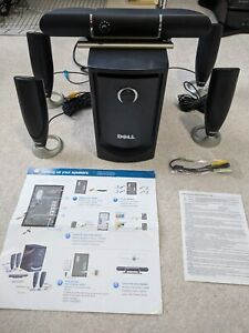 Dell MMS 5650 100W 5.1-Ch  PC Speakers w/Subwoofer + Satellites J2523 Surround