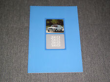 Original Prospekt Brochure Mercedes W123 200D 220D 240D 300D  ,  04/76  Deutsch
