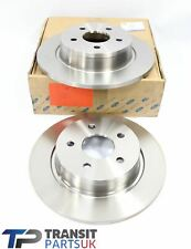 "GENUINE FORD TRANSIT CONNECT REAR SOLID BRAKE DISCS PAIR 2013 ON 16"" 1683384"