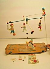 Vintage Originals by IRMI Nursery Hand Painted Circus Crib Mobile Wooden