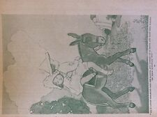 m17a1 ephemera 1920s book plate felix lifted rosamund into the saddle