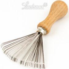 Haarbürstenreiniger Kammreiniger Drahtborsten Haarentferner Klettverschluss