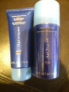 Mary Kay Velocity Set For MEN Cooling After Shave Gel AND Body Spray