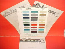 1959 CHRYSLER CROWN IMPERIAL 300E WINDSOR NEW YORKER SARATOGA PAINT CHIPS +