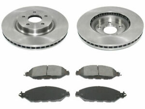 For 2013-2019 Nissan Pathfinder Brake Pad and Rotor Kit Front 47974HZ 2014 2015