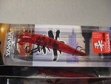 "Lucky Craft 5"" Fishing Lure 5/8 Oz Yawara 125Fw Esg Flash Monnow / Solid Red"