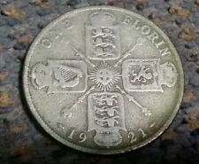 1921 UK One Florin silver King George 5th