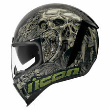Icon Motorsports Airform Parahuman Motorcycle Full Face Helmet - Black