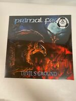 PRIMAL FEAR-DEVILS GROUND VINYL NEW Marbles Vinyl Limited Edition Nuclear Blast