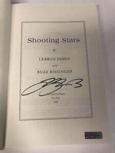 Lebron James Signed Autographed Book Shooting Stars Lakers Cavs Heat Irish COA