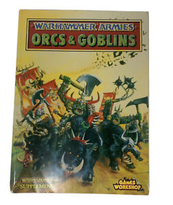 WARHAMMER Armies Book: ORCS & GOBLINS SUPPLEMENT BOOK - FREE SHIPPING!