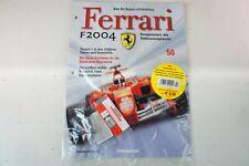Kyosho DeAgostini Kit Ferrari F2004 / F1-04050 mit Heft OVP Ausgabe Nr.50
