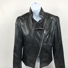Hanyagedlao Jacket Faux Leather Motorcycle Style Sz Large NWT
