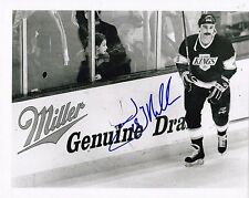 Jay Miller Los Angeles Kings Autographed 8x10 Photo W/COA