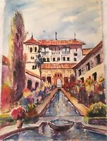 Vtg Watercolor Paintings. Signed Beautifully Done!!