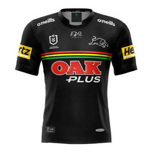 Penrith Panthers 2021 Home Jersey Sizes Small - 7XL, Ladies & Kids NRL oneills