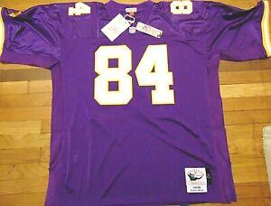 MITCHELL & NESS NFL MINNESOTA VIKINGS RANDY MOSS 1998 AUTHENTIC JERSEY SIZE 56