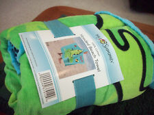 Frog HOODED BATH BEACH TOWEL Ribbit + $10 GIFT w/ $19.98 order!    NEW!