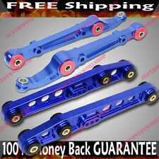 BLUE Front & Rear Lower Control Arms  92-95 Civic/94-01 Integra/93-97 Del Sol