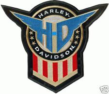HARLEY DAVIDSON HONOR SHIELD PATCH  5 inch VINTAGE HARLEY PATCH