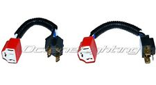 7X6 Ceramic H4 Hi Heat Headlight Headlamp Light Bulb Wiring Harness Socket Plugs