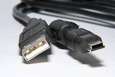 NIKON UC-E4 UC E4 CAVO USB USB CABLE NUOVO PER REFLEX NIKON E ALTRE MARCHE NERO