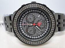 Ladies Brand New Black Metal Platinum Joe Rodeo/Jojo Diamond Watch 1.50Ct Jptl3