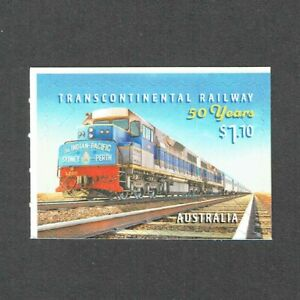 2020 Transcontinental Railway 50 Years $1.10 Self Adhesive Booklet stamp MUH/MNH