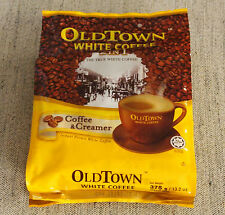 OldTown White Coffee 2 in 1 (NO SUGAR ADDED) IPOH, MALAYSIA 3 bags of 15 = 45