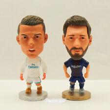 Ronaldo Real Madrid Messi Barcelona Mini Soccer Figure Fans Collection Football