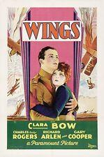 Wings - 1927 - Clara Bow Charles Rogers - Vintage b/w Pre Code Silent Film DVD