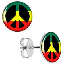 CND Peace Rasta Earrings Stud earrings